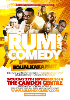 rum and comedy feature